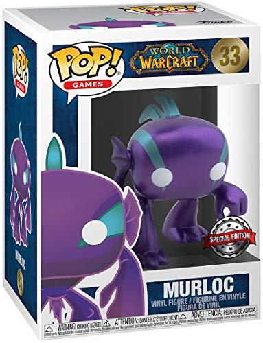 World of Warcraft Murloc (Blizzard 30th) (Metallic) Vinyl Figur 33 Unisex Funko Pop! Standard