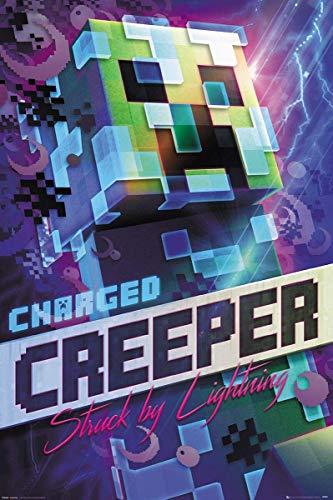 Taci Minecraft Creeper Poster, 28 x 43 cm