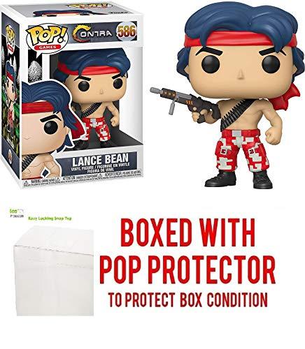 Lance Bean #586 Pop Games: Contra Vinyl-Figur (mit EcoTek...