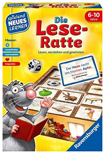 Ravensburger 24956 - Die Lese-Ratte - Spielen und Lernen für...
