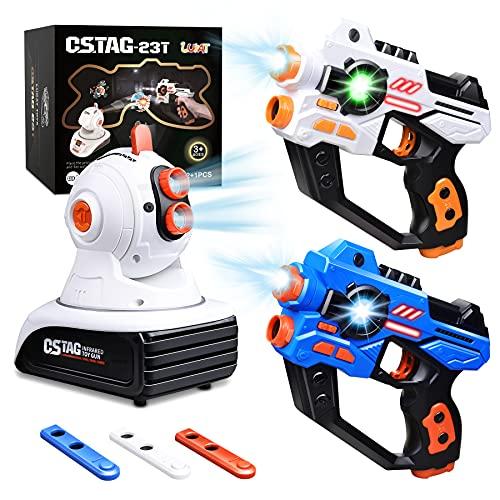 LUKAT Lasertag Spielzeug für Jungen & Mädchen, Infrarot...