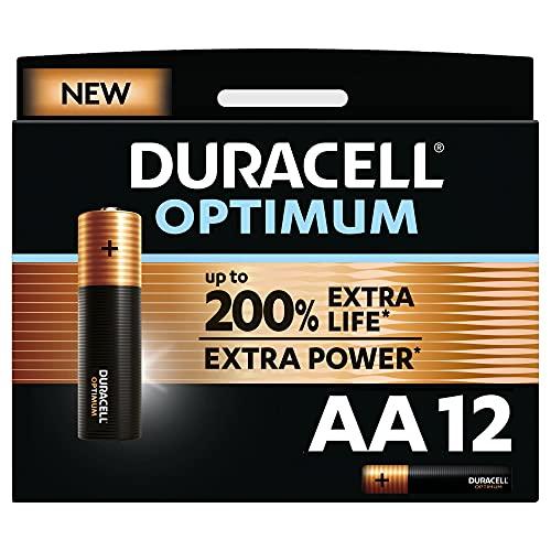 Duracell NEU Optimum AA Mignon Alkaline-Batterien, 1.5V LR6...