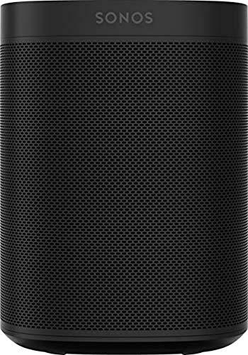 Sonos One Smart Speaker, schwarz – Intelligenter WLAN...