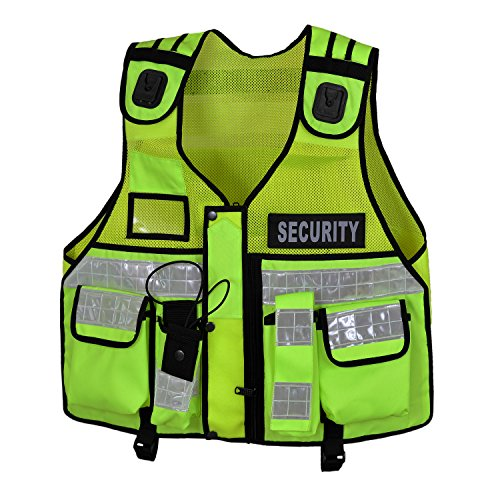 Hi Viz taktische Weste, Hundeführer CCTV, grün