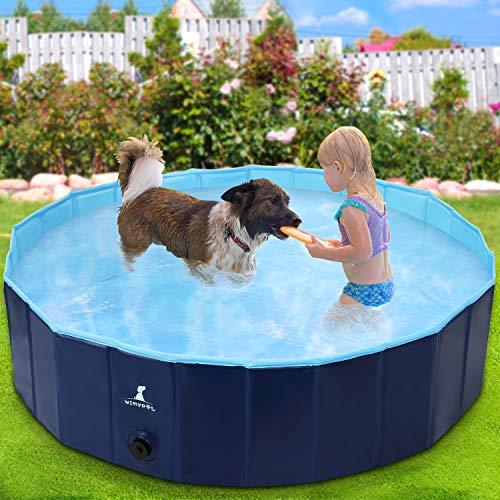 Wimypet Hundepool Schwimmbad für Hunde, Hundeplanschbecken...
