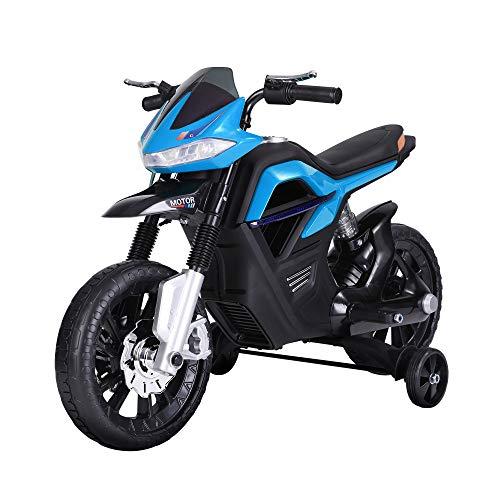 HOMCOM Kindermotorrad Kinder-Elektromotorrad Elektro-Motorrad...
