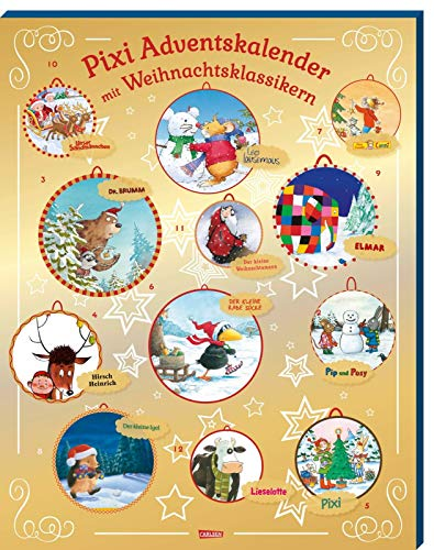 Pixi Adventskalender GOLD 2020: Adventskalender mit 24...
