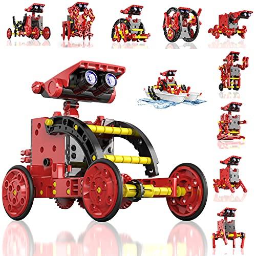 CIRO Toys STEM Spielzeug für 9-jährige Jungen, Solarroboter...