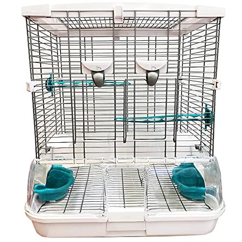 Vogelkäfig, hochfest, glatter Stahldraht, geeignet für Vögel...