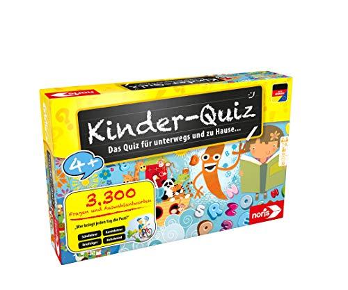 Noris 606013595 Kinder-Quiz, der Familen-Spielspaß für Zuhause...