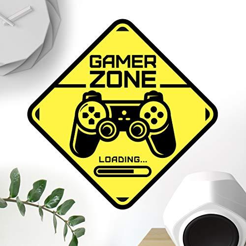 Gamer Zone Türschild Aufkleber Wandkunst Schlafzimmer Jungen...