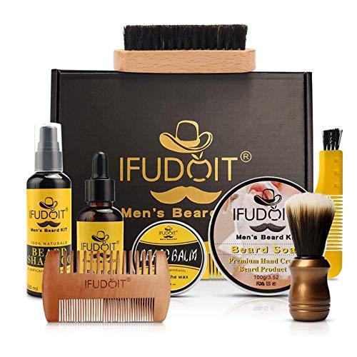 Bartpflege-Set Männer Pflege & Pflege Bartwäsche/Shampoo,...