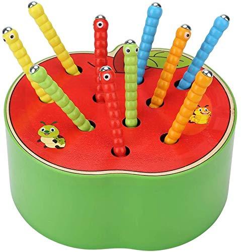 Afufu Kinderspielzeug ab 1 2 3 4 5 Jahren, Holz Montessori Spielzeug für Babys, Holzspielzeug...