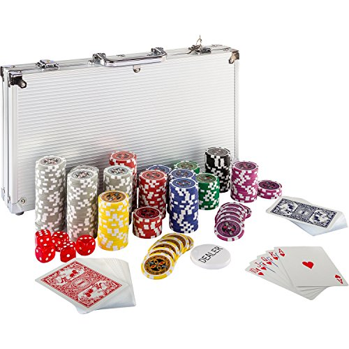 Maxstore Ultimate Pokerset mit 300 hochwertigen 12 Gramm...
