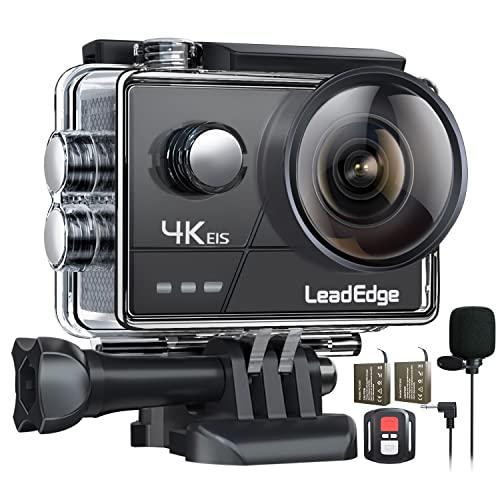 LeadEdge A20 Action Cam 4K/30FPS 1080P/60FPS 20MP...