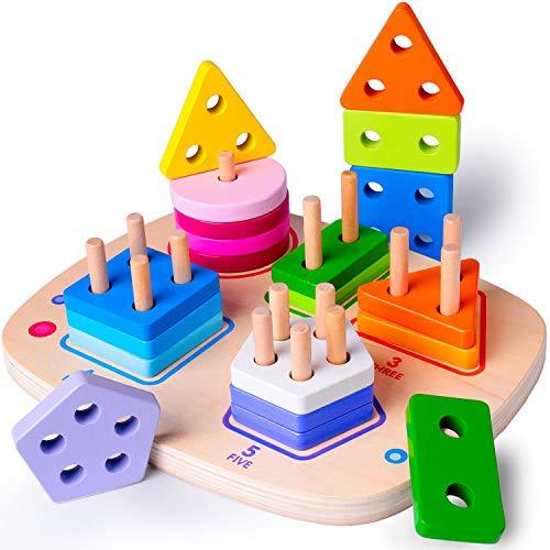 Rolimate Holz Pädagogisches Spielzeug Beste Geburtstag 3 4 5+...