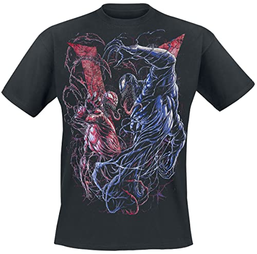 Venom (Marvel) Venom vs. Carnage Männer T-Shirt schwarz L