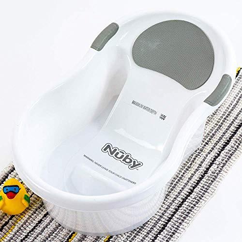Nuby Baby-Badewanne mit integriertem Sitz und weicher...