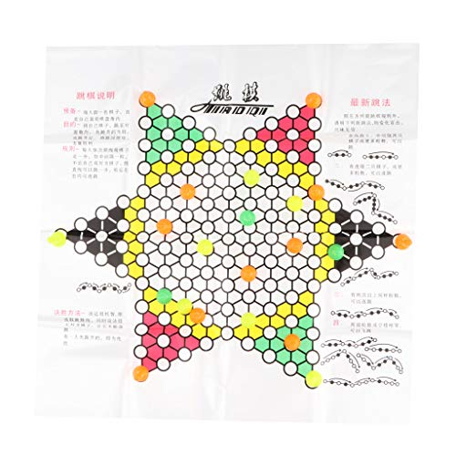 F Fityle Folding Chinese Checkers Jumping Chess Checkers...