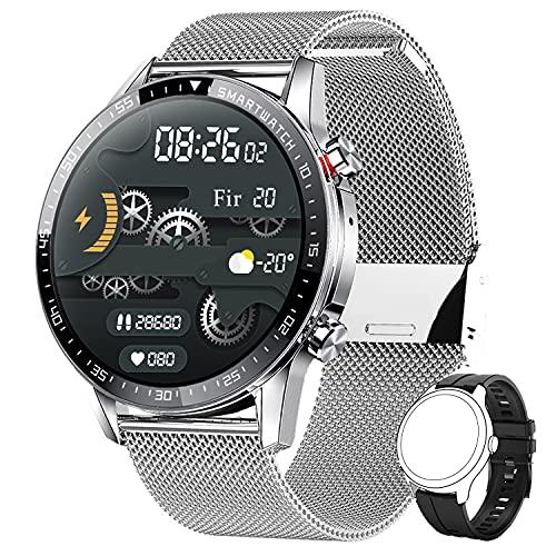 Smartwatch Herren,Phipuds Smart Armbanduhr Männer Fitness...
