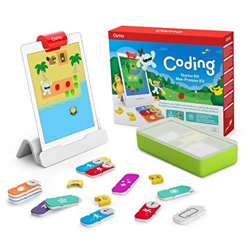 Osmo Coding Starter Kit für iPad –3 haptische Lernspiele -...