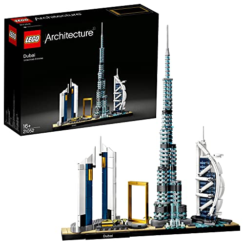 LEGO 21502 Architecture Dubai, Skyline-Kollektion, Modellbausatz,...