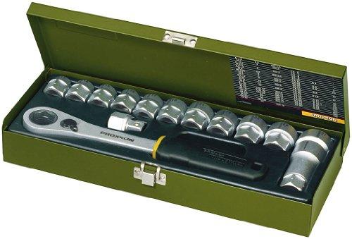 Proxxon 23604 Werkstatt-Spezialsatz, 13 bis 27 mm 14-teilig , 1/2...
