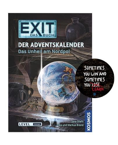 EXIT Das Buch - Set: Der Adventskalender - Das Unheil am Nordpol...
