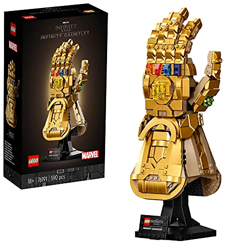 LEGO 76191 Marvel Super Heroes Infinity Handschuh, Avengers Set...