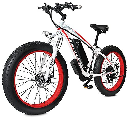 26 Zoll Ebike Elektro Fahrrad, 1000 Watt Elektrofahrräder mit...