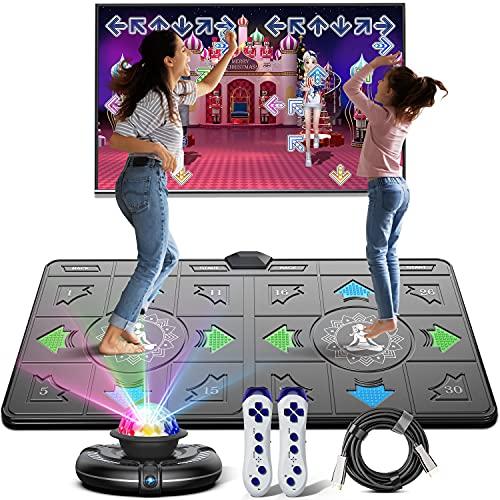 Tanzmatte für Erwachsene Kinder, Musikmatte USB Tanzmatte Für...