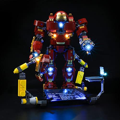 Sungvool LED-Beleuchtungsset für Lego Marvel Avengers...