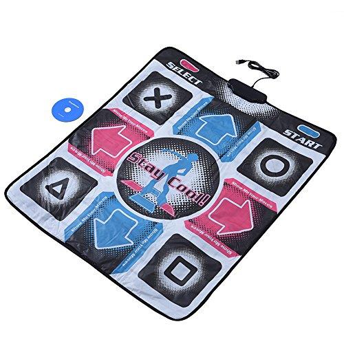 Richer-R USB-Tanzmatte Basic Dance Pad, Rutschfeste Durable...