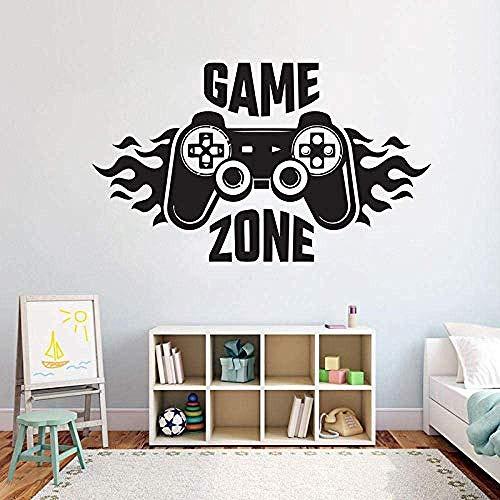Kinder Schlafzimmer Wandtattoo Home Decoratetion Game Zone Gamer...