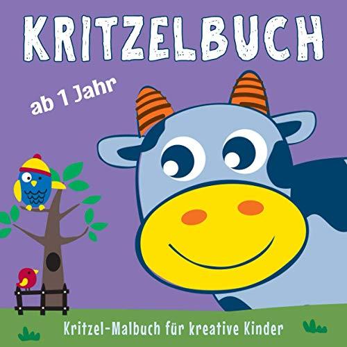 Kritzelbuch ab 1 Jahr: Mein erstes dickes Kinder Kritzel-Malbuch...