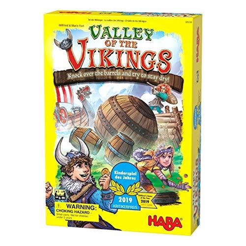 HABA 305338 - Tal der Wikinger - 2019 Kinderspiel des Jahres...