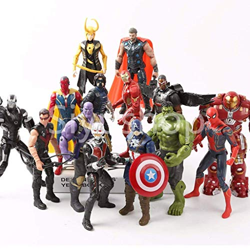 Siyushop Helden-Action-Figuren - Heldenfiguren-Modell-Set ,...