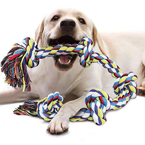 VIEWLON Hundespielzeug Seil für Starke große Hunde,...