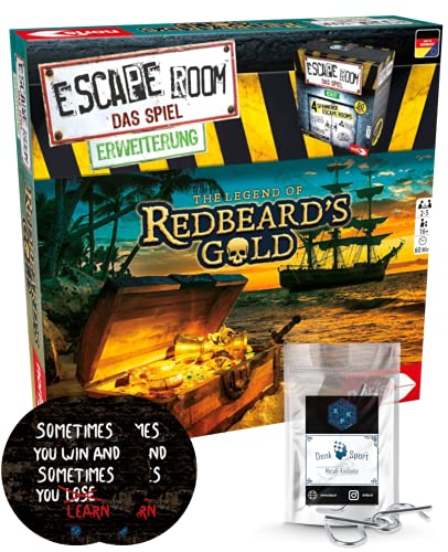 Escape Room Erweiterung The Legend of Redbeard's Gold - Familien...