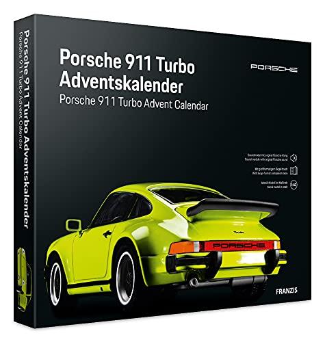 Franzis 55109-2 Adventskalender Porsche 911 Turbo hellgrün,...