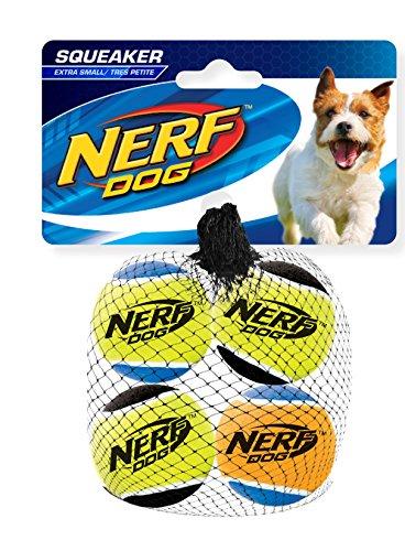 Nerf Dog Squeak Tennis Balls: 4,5 cm