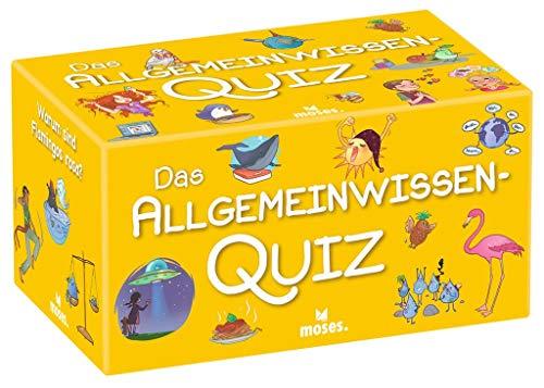 moses. Verlag GmbH 90347 Das Allgemeinwissen-Quiz