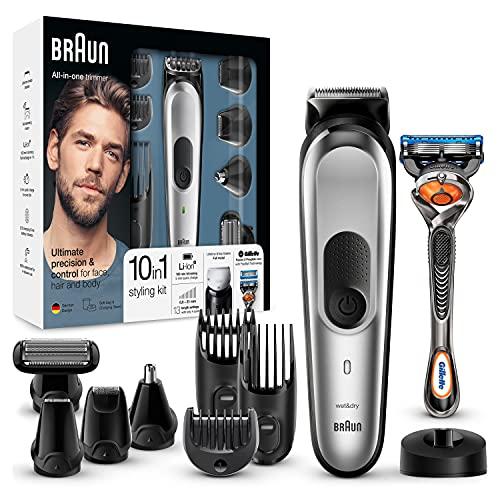 Braun 10-in-1 Multi-Grooming-Kit MGK7020 – Bartpflege Set für...