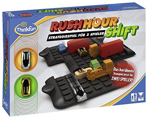 ThinkFun 7630 - Rush Hour Shift - Das bekannte Logikspiel für 2...