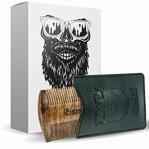 Bartkamm doppelseitig Holz von Eisenbart/Taschenkamm...