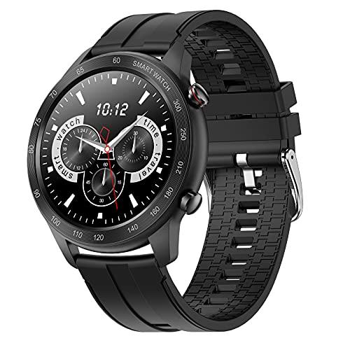 FMSBSC Smartwatch Herren, Smart Armbanduhr Herren Fitness Tracker...