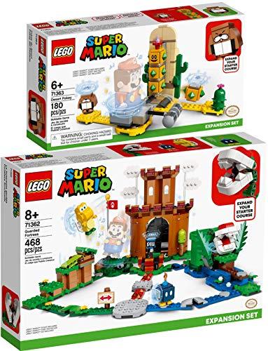 Bundle Lego® Super Mario™ 2er Set 71362 71363 Bewachte Festung + Wüsten-Pokey
