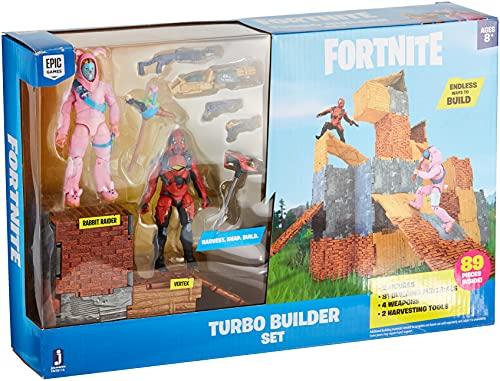FORTNITE FNT0115 Turbo Builder Set mit Spielfiguren Rabbit Raider...