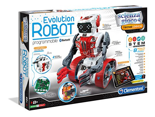 Toyland Clementoni Evolution Robot Robot Spielzeug, 530 mm, 90...