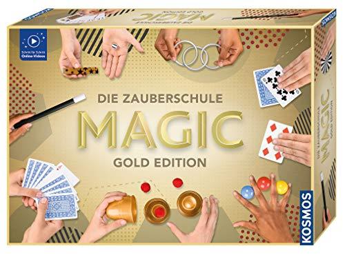 Kosmos 698232 Zauberschule Magic Gold Edition, 150 ZauberTricks...